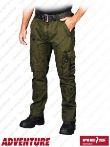 863c221e559355 Spodnie SPV-COMBAT_Z50 Zielony